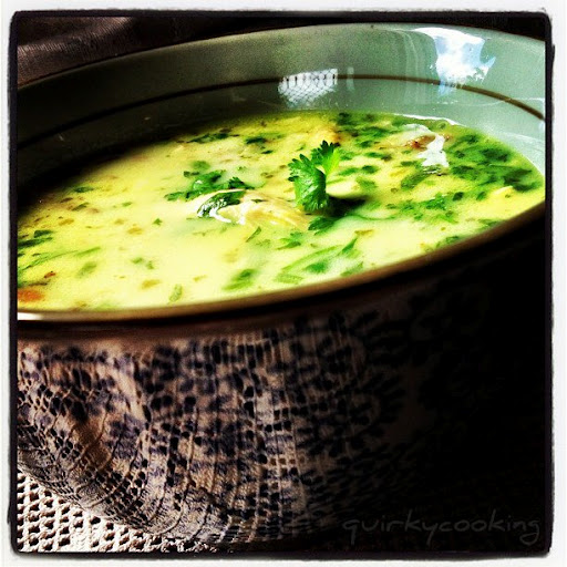 Coconut Lemon Chicken Soup Quirky Cooking
