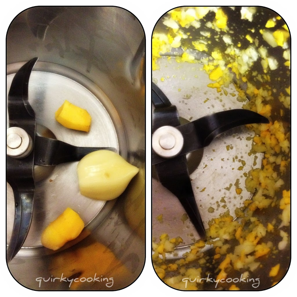 Soup Weather. And Old Favourites like Chicken & Fresh Turmeric Soup - Quirky Cooking