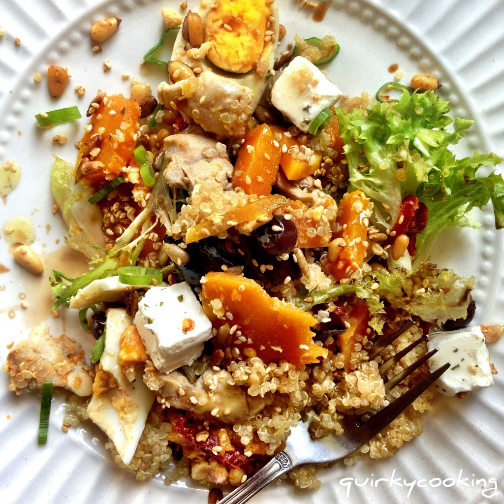 Quinoa salad thermomix style quirky cooking for Cuisine quinoa