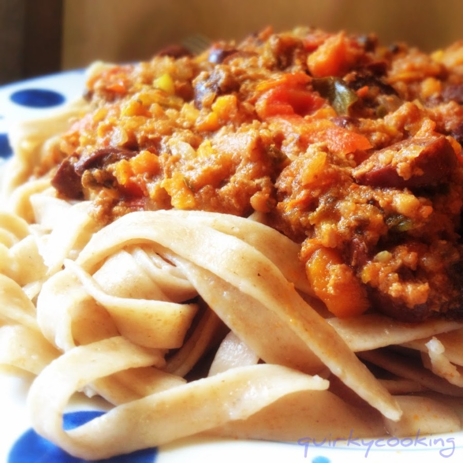 Bolognese Sauce in the Thermomix - Quirky Cooking