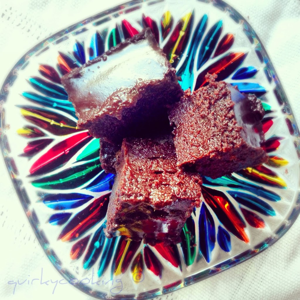 Quirky Cooking - Flourless Chocolate Brownies