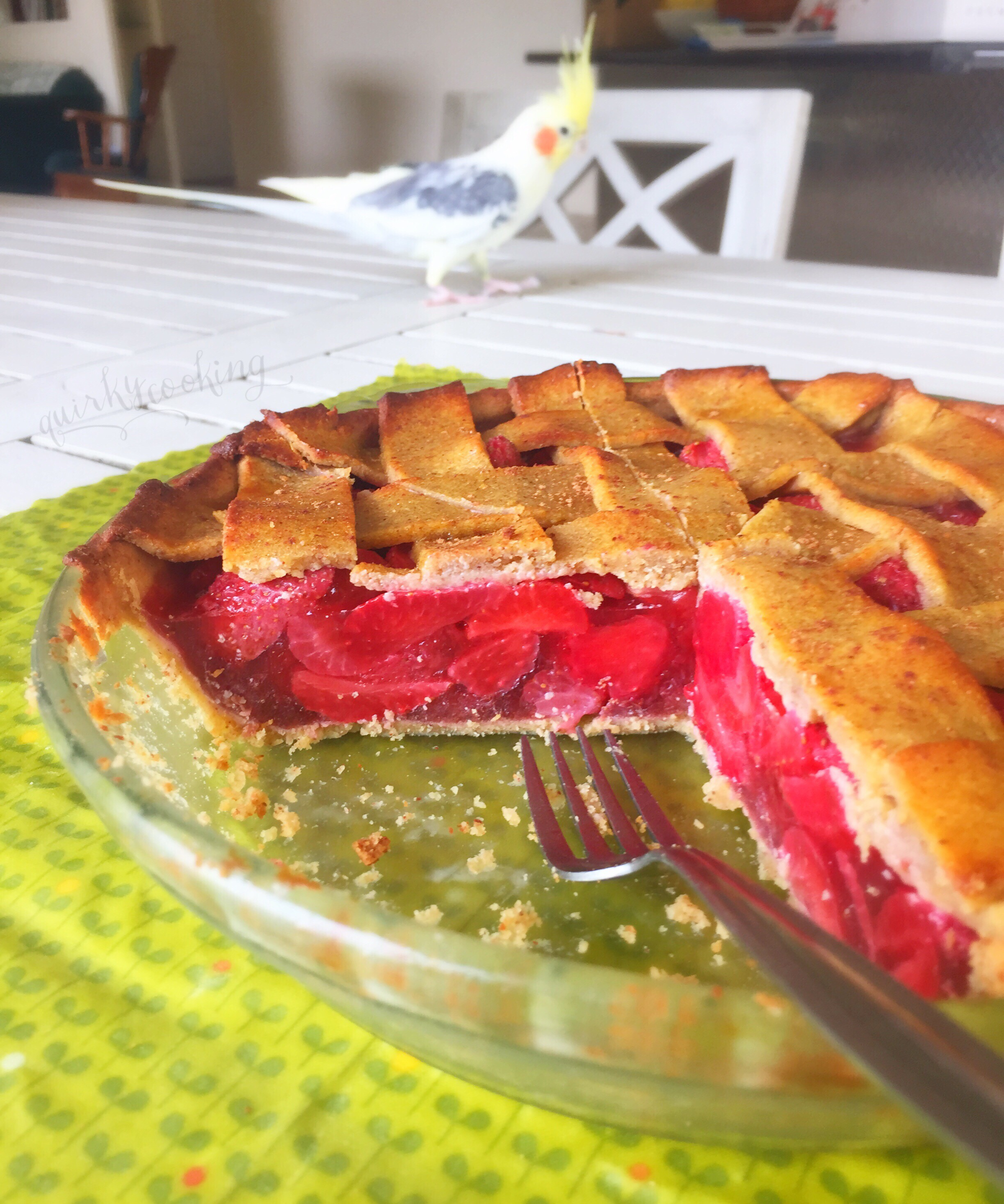 Quirky Cooking Grain Free Strawberry Pie