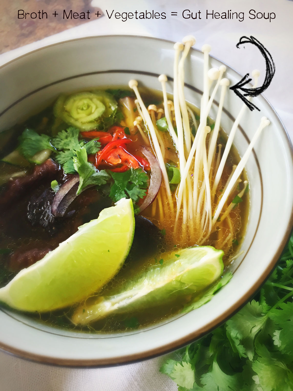 Gut Healing Soup - Quirky Cooking