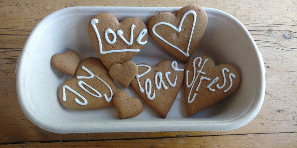 Christmas Cookies - Love, Joy, Peace, Stress