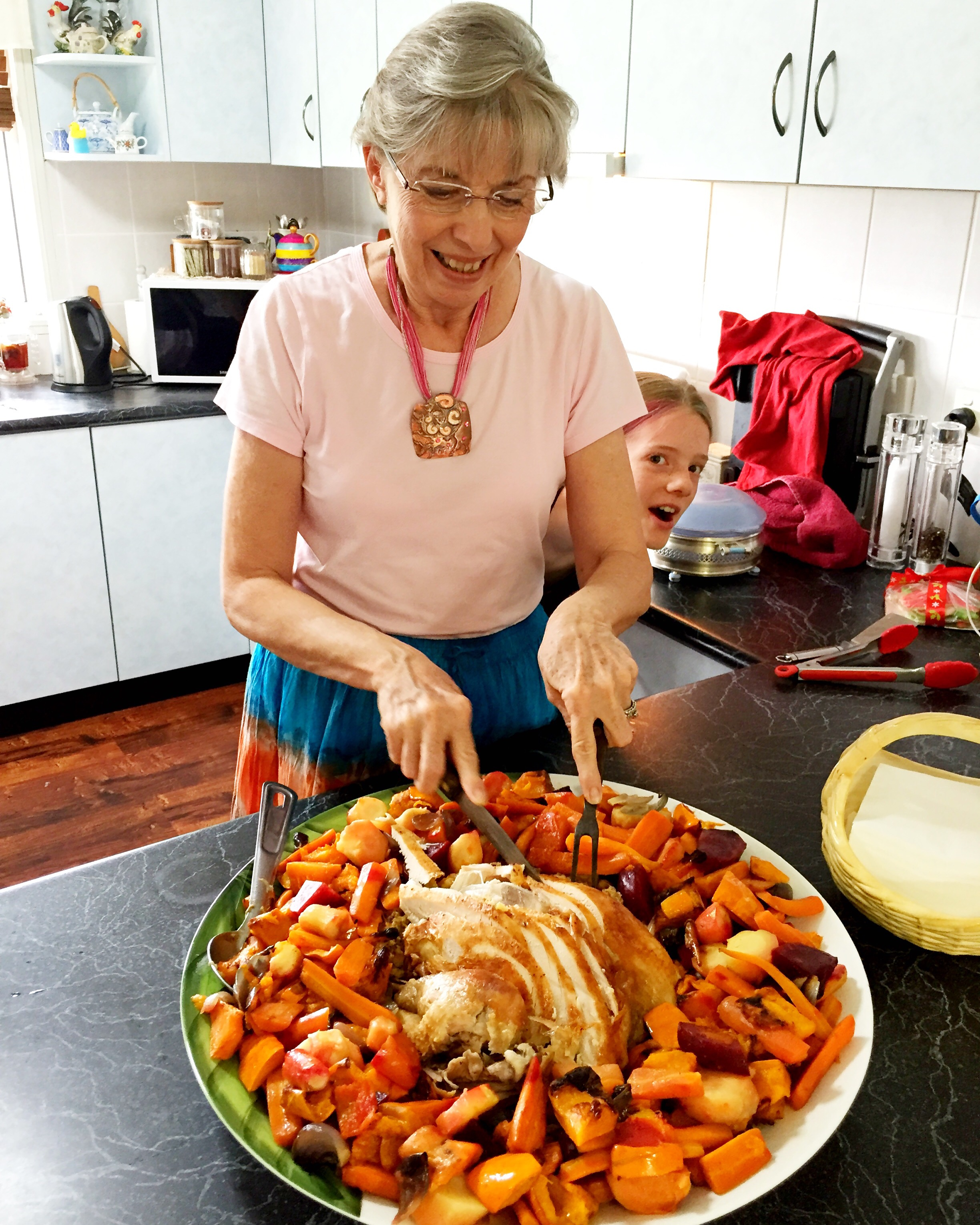 Christmas roast turkey, Quirky Cooking