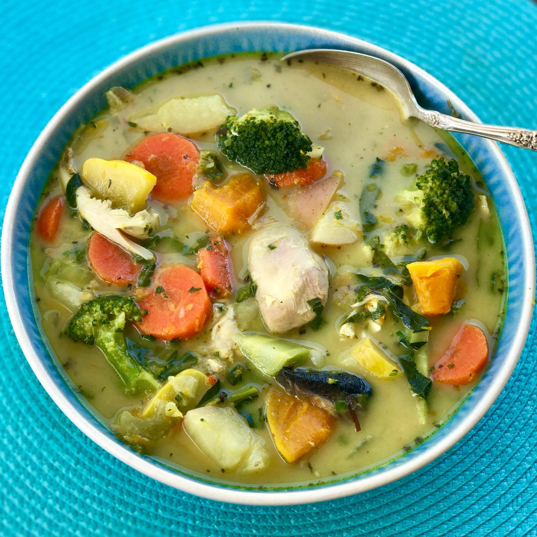 Healing Chicken Soup Recipe | Quirky Cooking