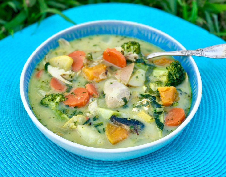Quirky Cooking - Healing Chicken Soup