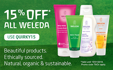 Get 15% Off Weleda Products