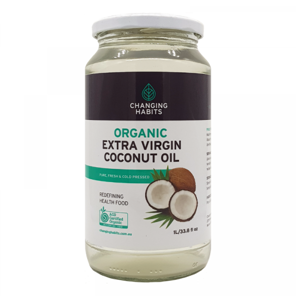 Changing Habits Coconut Oil