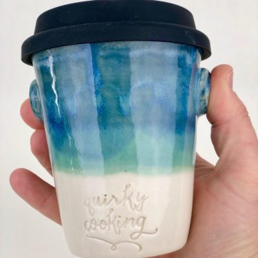 Quirky Cooking Ceramic Travel Cup