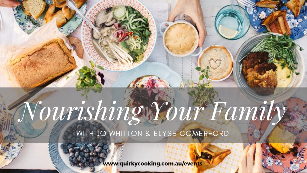 Nourishing Your Family, Quirky Cooking