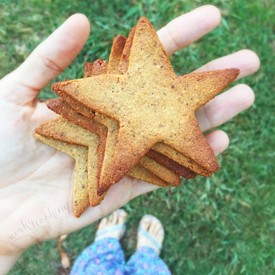 Grain Free Gingerbread, Quirky Cooking
