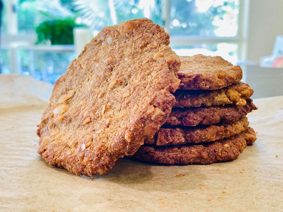 Yummy Grain Free Biscuits for Anzac Day, Quirky Cooking
