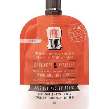Hilbilby Original Fire Tonic Traveller,Quirky Cooking