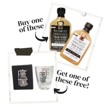 Hilbilby Fire Tonic, Quirky Cooking