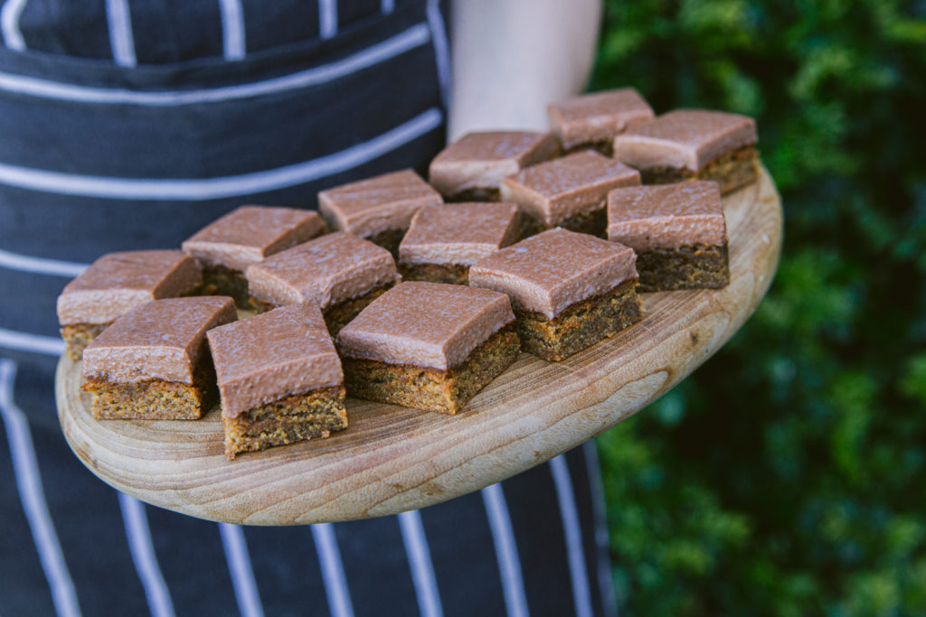 Chocolate Gingerbread Slice, Quirky Cooking