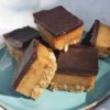 Gut-Healthy Chocolate Caramel Slice, Quirky Cooking