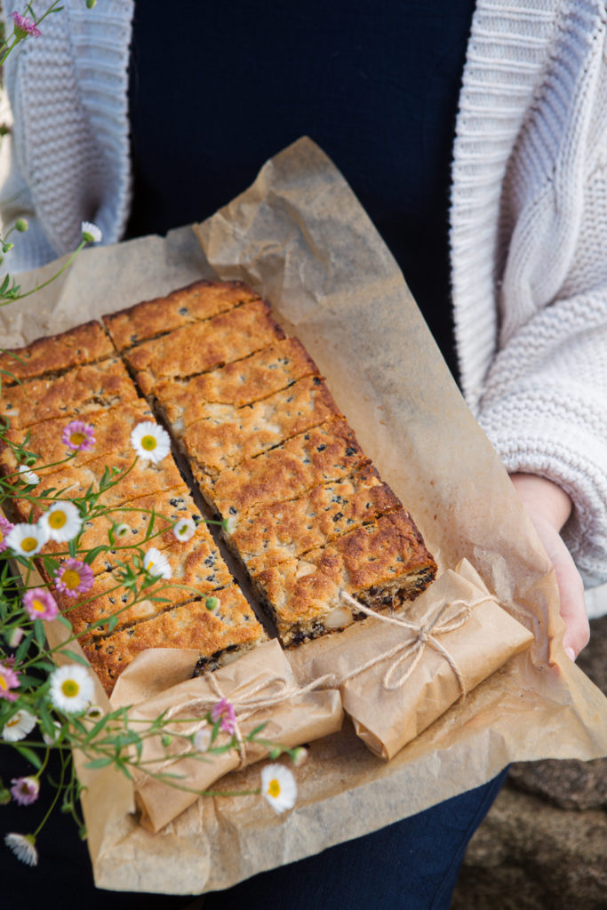 Lemon Currant Bars, Quirky Cooking