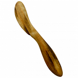 Quirky Cooking Hand~Carved Wooden Spreader